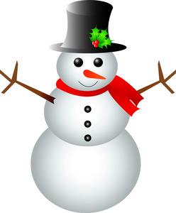248x300 Cartoon Snowman Clipart