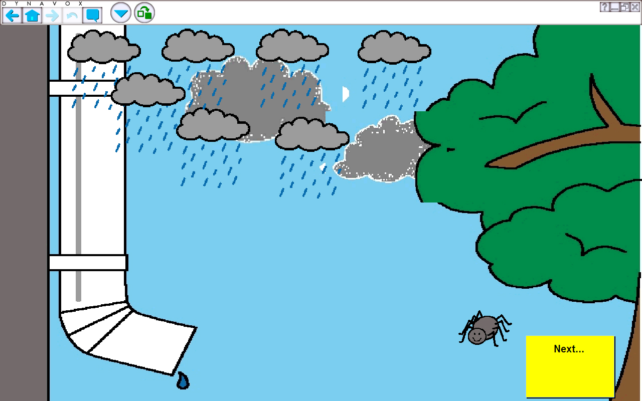 1280x800 Collection Of Itsy Bitsy Spider Water Spout Clipart High