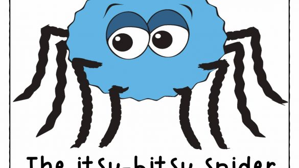 585x329 Itsy Bitsy Spider Clipart