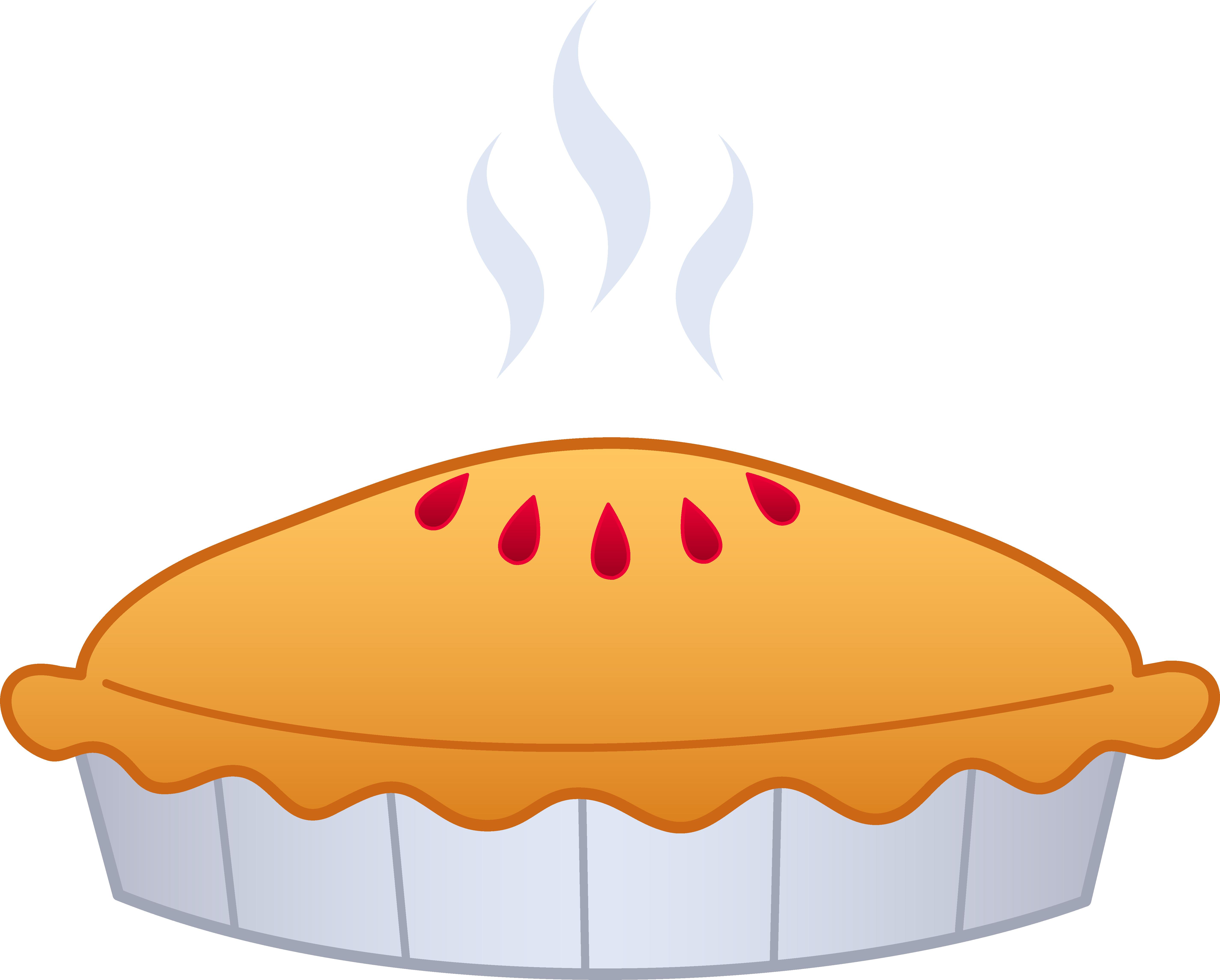 5700x4579 Thanksgiving Clipart Apple Pie