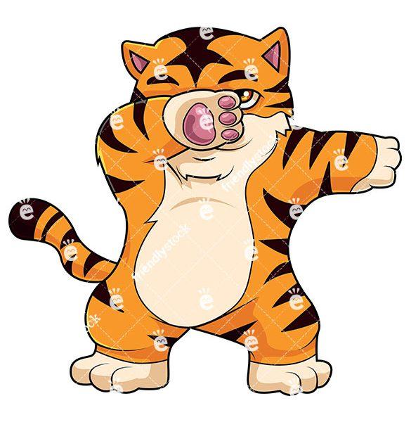 585x600 Tiger Cartoon Images Tiger Cartoon Vectors Search Clip Art