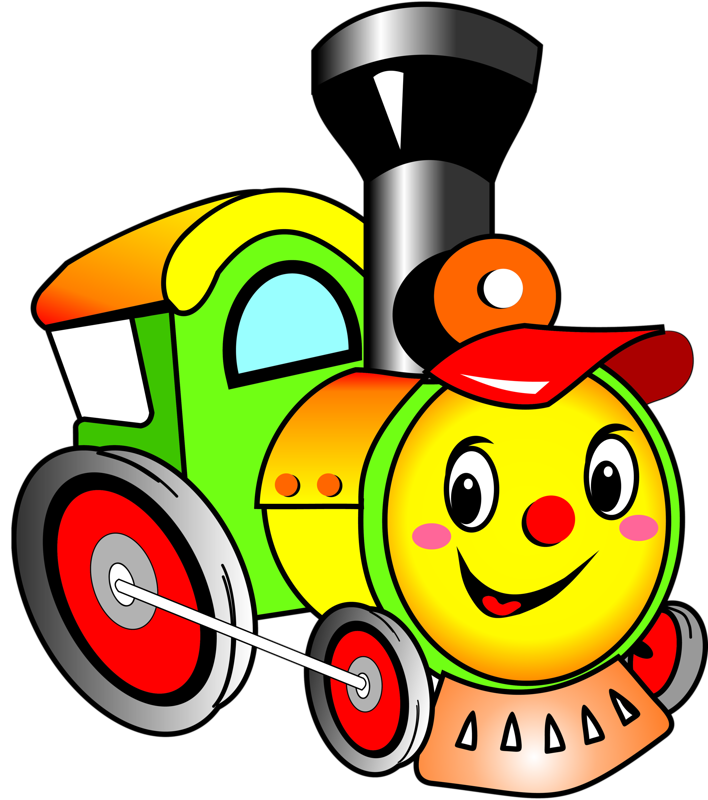 Cartoon Train Clipart
