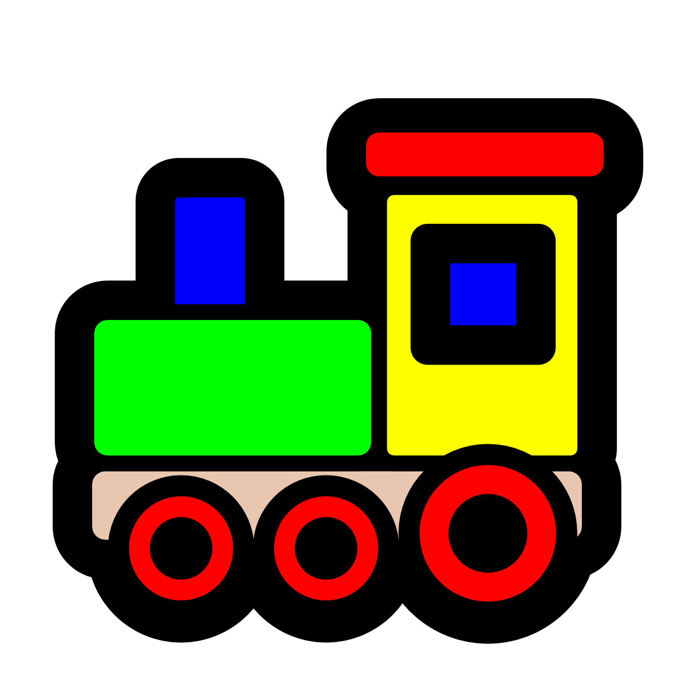 1331x1331 Cartoon Train Free Download Clip Art