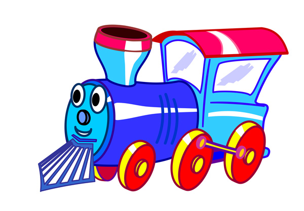 600x417 Image Of Choo Choo Train Clipart