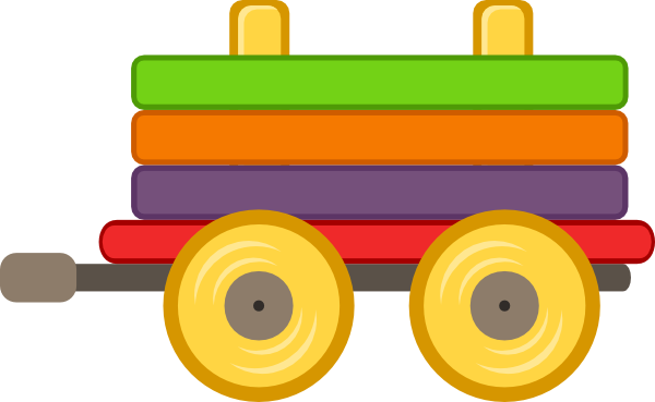 600x369 Loco Train Carriage Clip Art