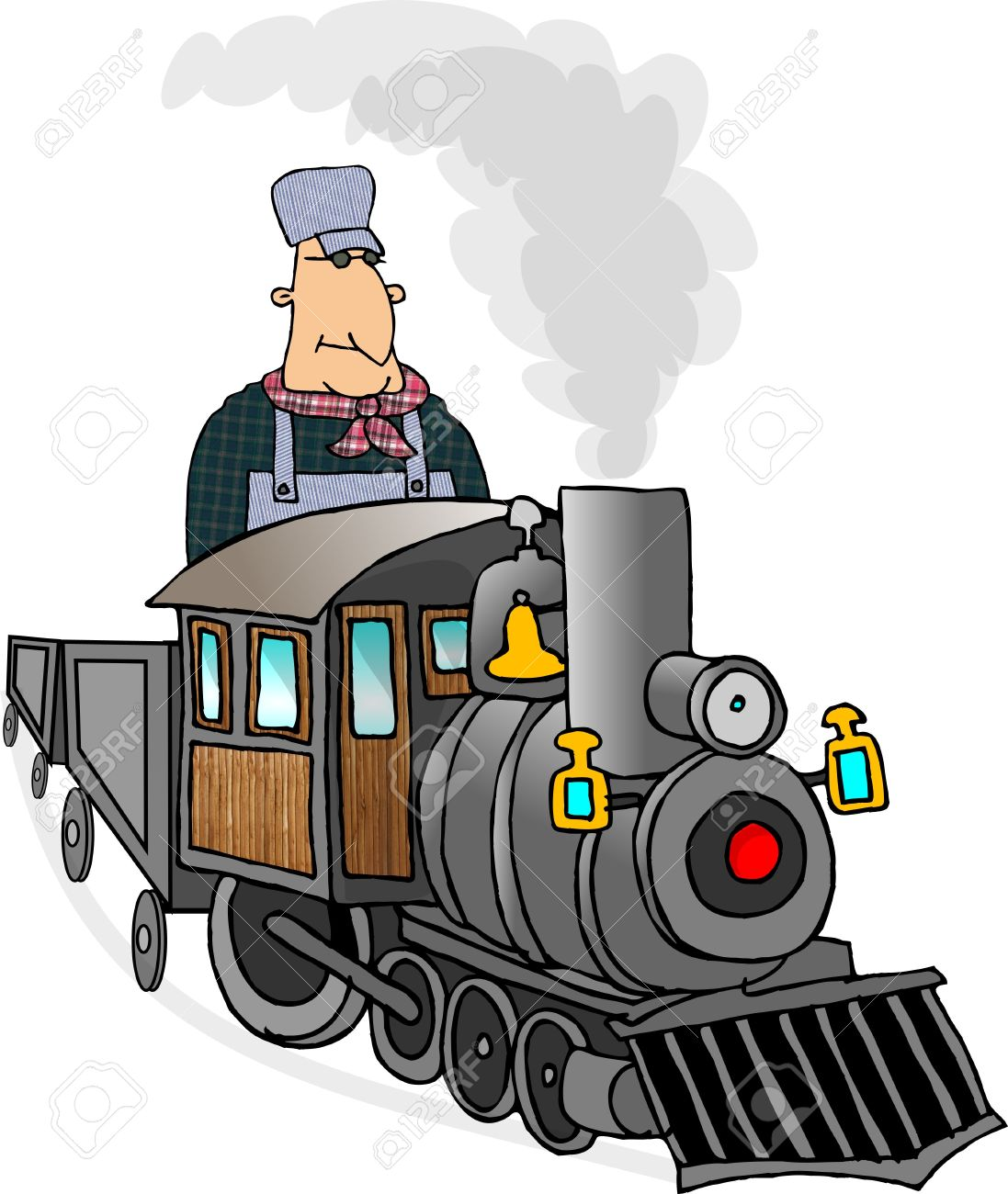 1097x1300 Cartoon Train Conductor Free Download Clip Art