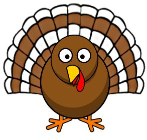 Cartoon Turkey Clipart