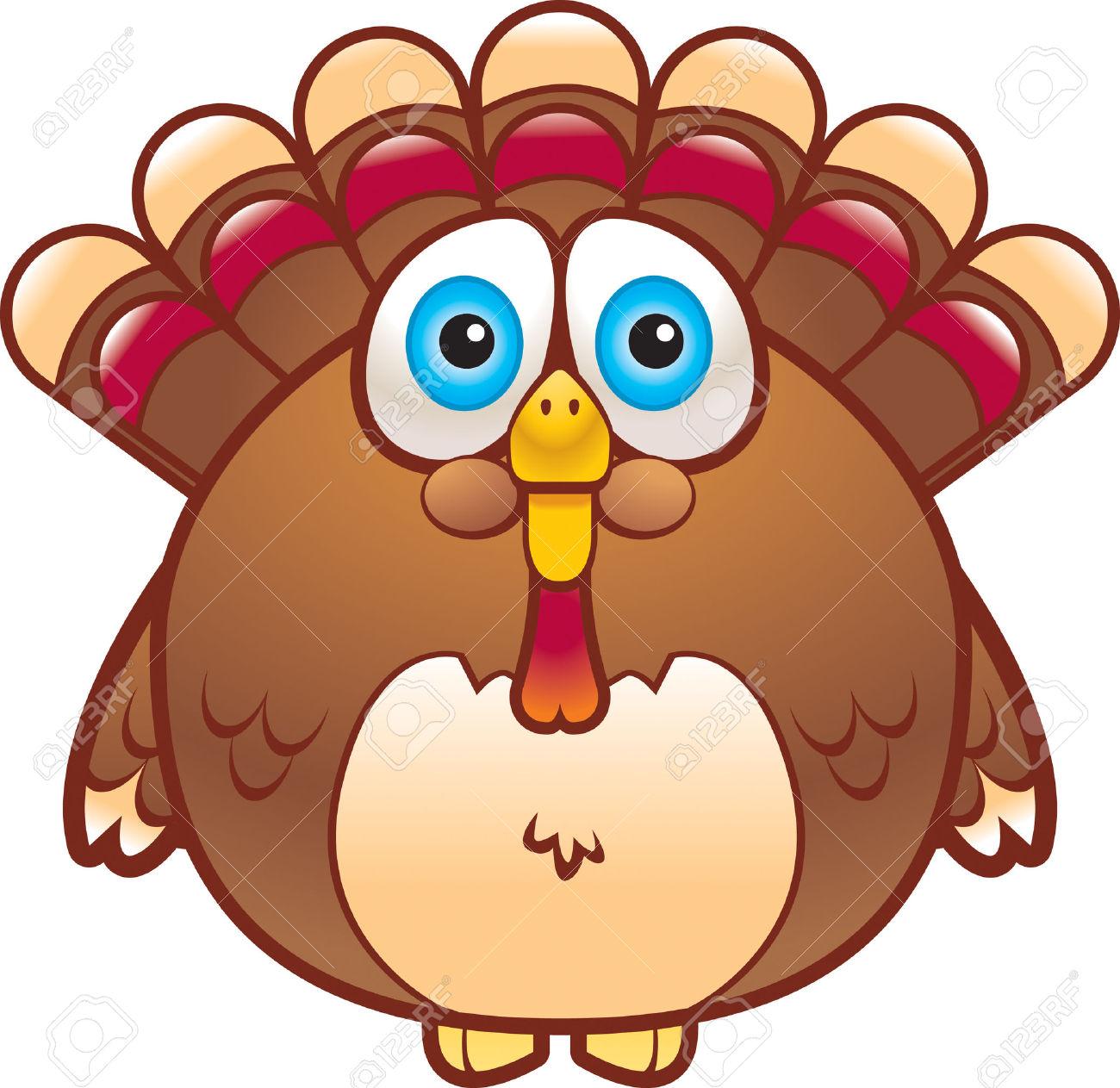 1300x1263 Fat Turkey Clipart