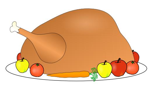 525x302 Free Roast Turkey Clipart