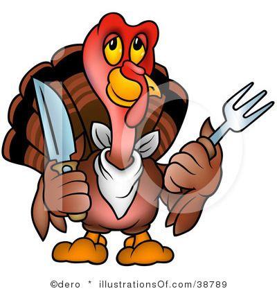 400x420 Turkey Clipart Happy Holidays Clip Art