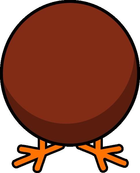 486x600 Animated Turkey Clipart