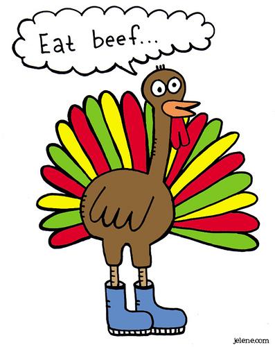 397x500 Cartoon Turkey Clipart