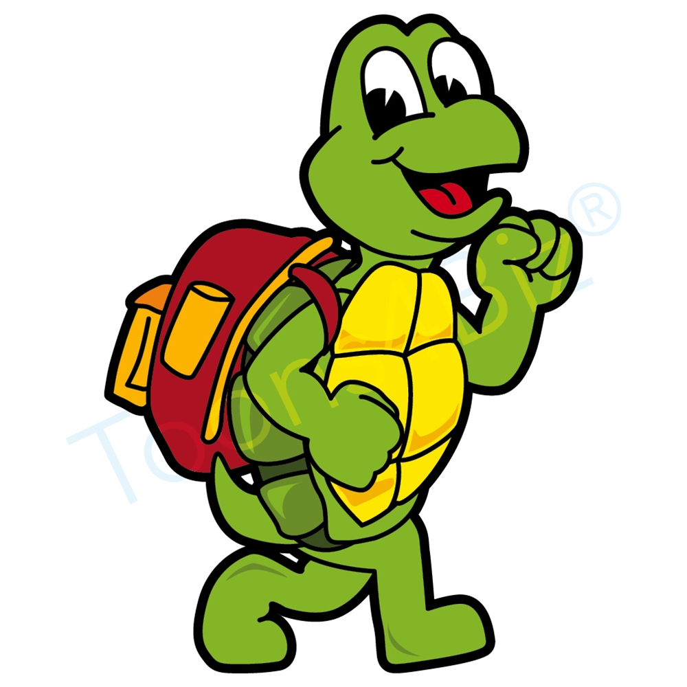 1000x1000 Collection Of Turtle Walking Clipart High Quality, Free
