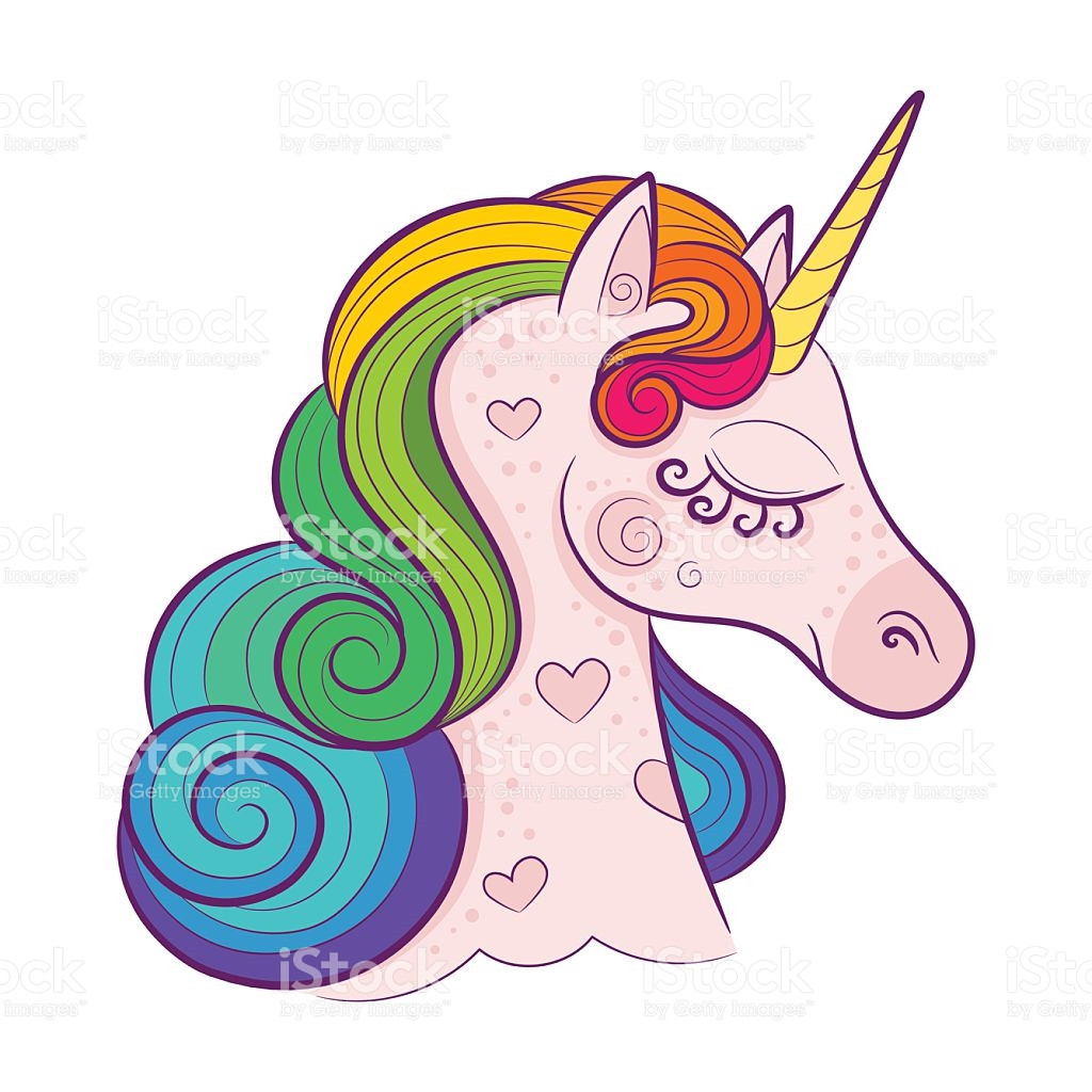1024x1024 Free Clip Art Unicorn Cartoon Rainbow Colored Unicorn Rearing Up