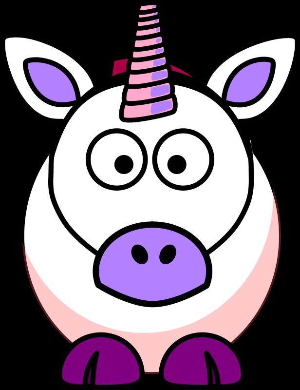 616x800 Free Clipart Cartoon Unicorn Spacefem