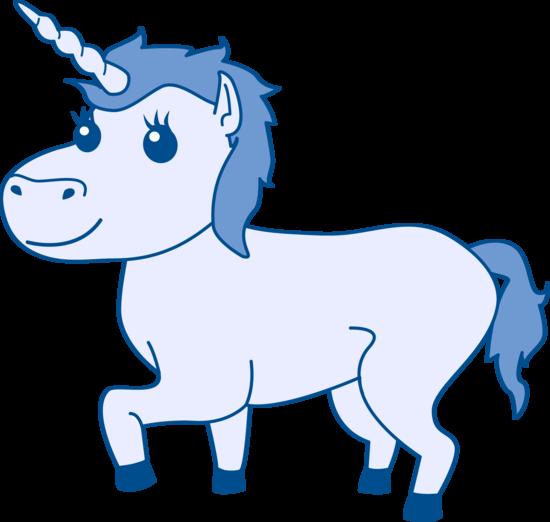 550x522 Blue Unicorn Design