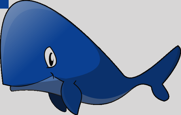 628x401 Happy Whale Clipart