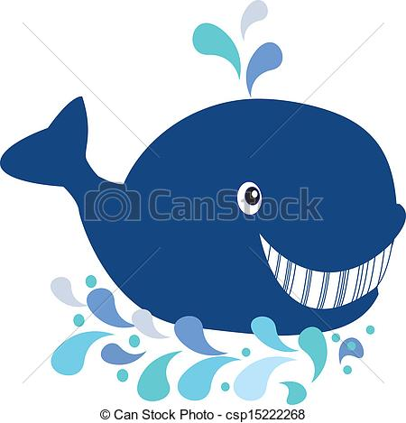 450x469 Whale Cartoon Clip Art Vector
