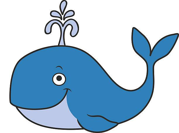 612x456 Blue Whale Clipart Focus Cartoon Pictures Of Whales Whale Clipart