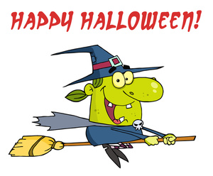 300x248 Witch Cartoon Clipart Image