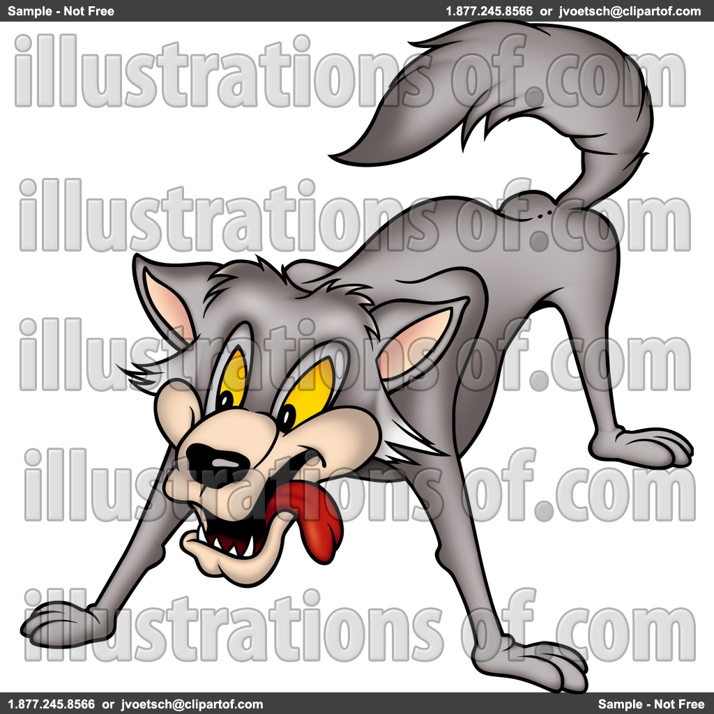 1024x1024 Royalty Free (Rf) Wolf Clipart Clipart Panda