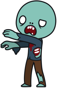 Cartoon Zombie Clipart