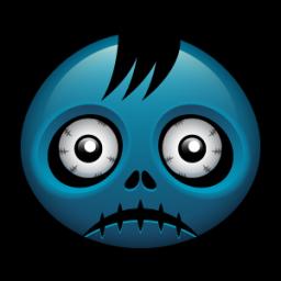 256x256 Zombie Clipart Zombie Head