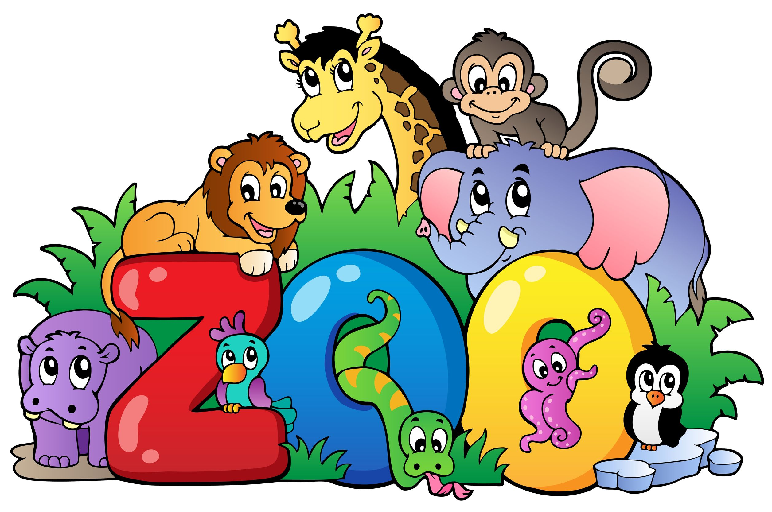 cartoon zoo animals clipart at getdrawings com free for personal rh getdrawings com zoo clip art to print zoo clip art free black and white