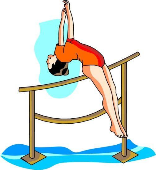 504x550 Free Gymnastics Clipart Pictures