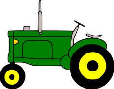 Case Tractor Clipart