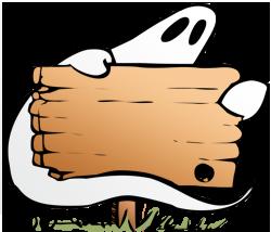 250x214 Ghost Clip Art