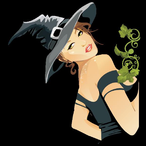 600x600 Halloween Witch