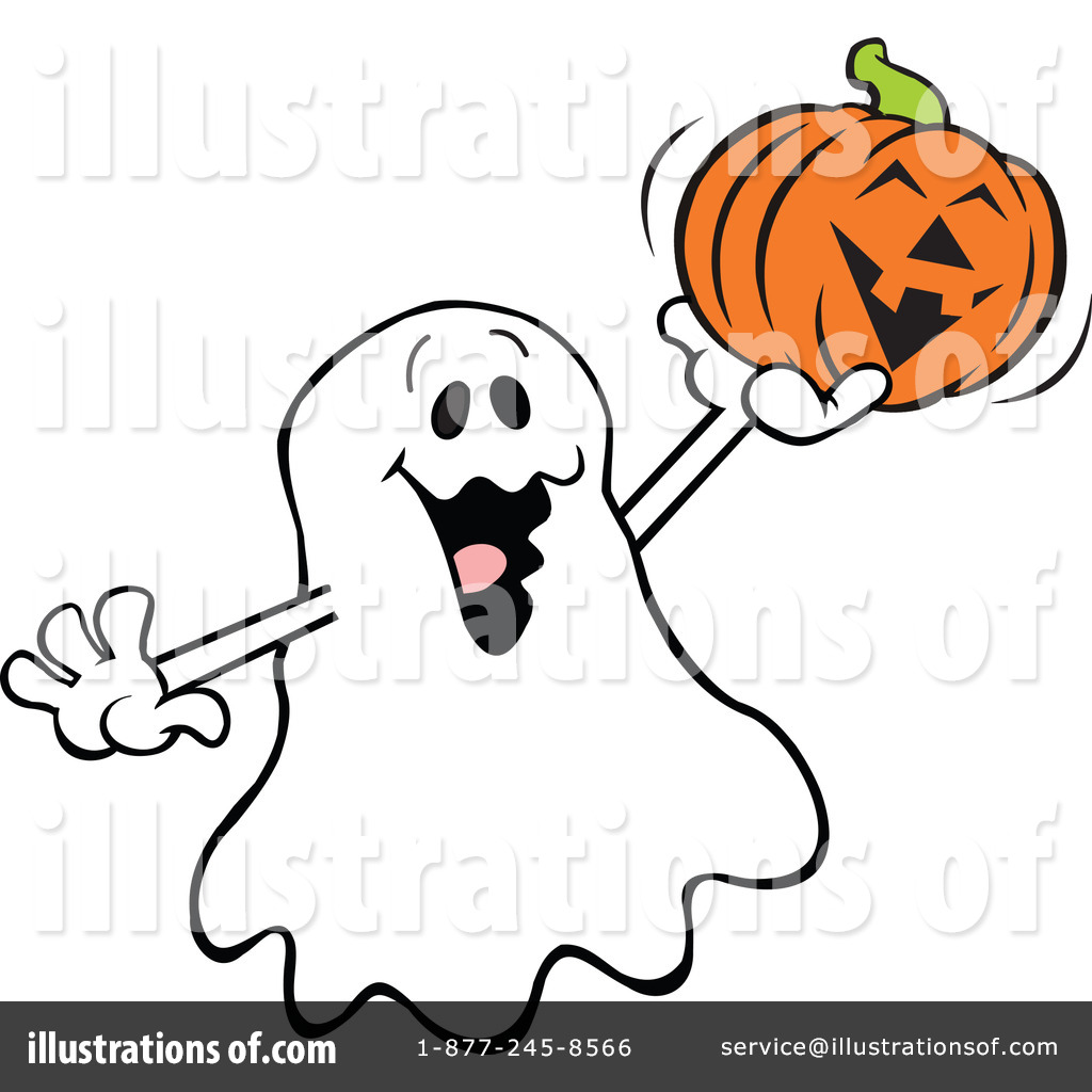 1024x1024 Friendly Ghost Clipart