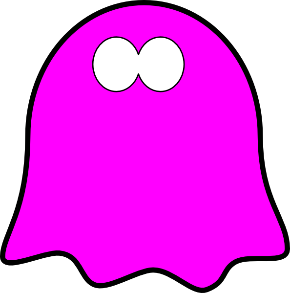 594x599 Friendly Ghost Clipart