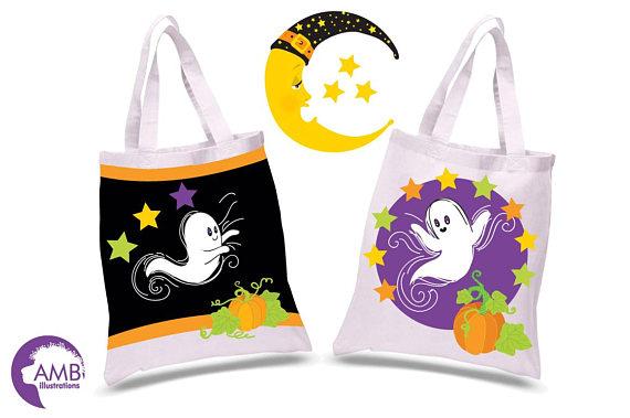 570x379 Halloween Clipart, Ghost Clipart, Pumpkin Clipart, Casper