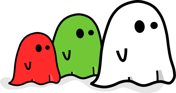 600x316 Animated Ghost Clipart