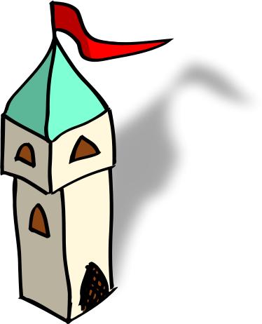 374x462 Free Castle Clipart