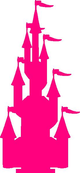 276x595 Pink Castle Clip Art