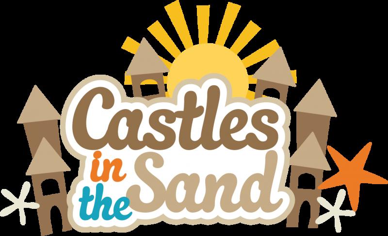 800x487 Sand Castle Clipart
