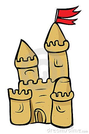 300x450 Cartoon Sand Castle Clipart