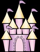133x170 Fairytale Castle Clipart Free Vector Castle Clip