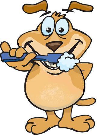 338x450 Brush Teeth Dog Brushing Teeth Clipart Clip Art Library