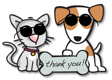 364x260 Cats And Dogs Clipart Group