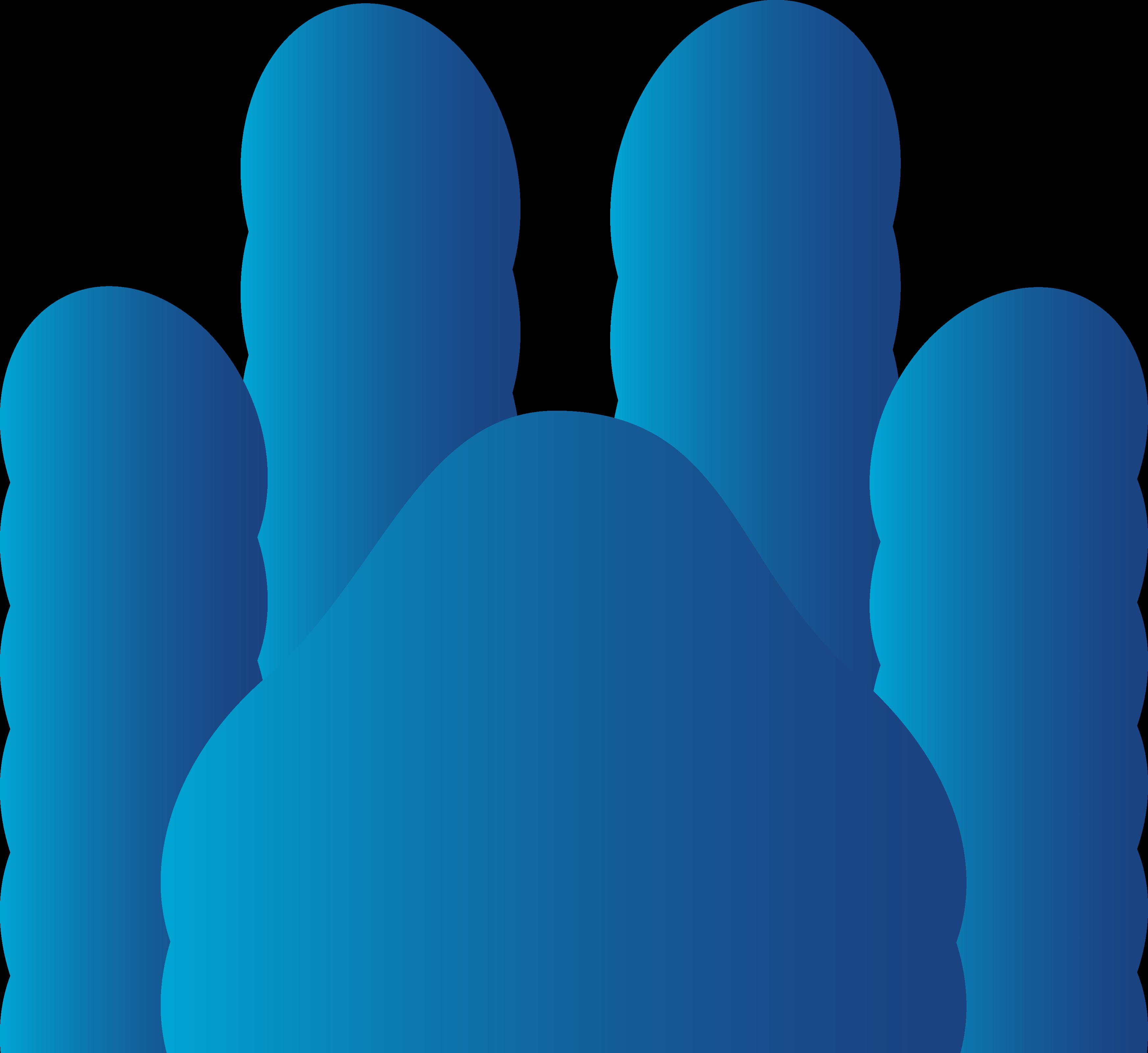 3492x3202 Dog Paw Print Clip Art
