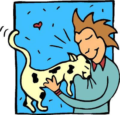 400x383 Pet Clipart Animal Lover
