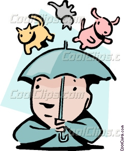 248x300 Rain Cats And Dogs Clipart