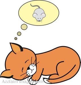 286x300 Sleeping Cat Cartoon Dog Clipart Free Clip Art Images