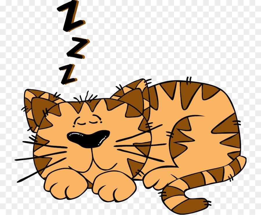 900x740 Cat Kitten Sleep Clip Art