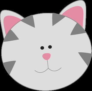 320x318 Cat Clip Art
