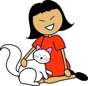 300x294 Free Pet Clipart Image 0515 1004 1303 1029 Cat Clipart